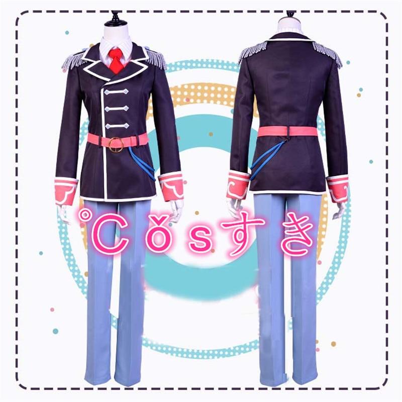 Free shipping Anime Idolish7 Trigger TeamTenn Kujo Cosplay Costume