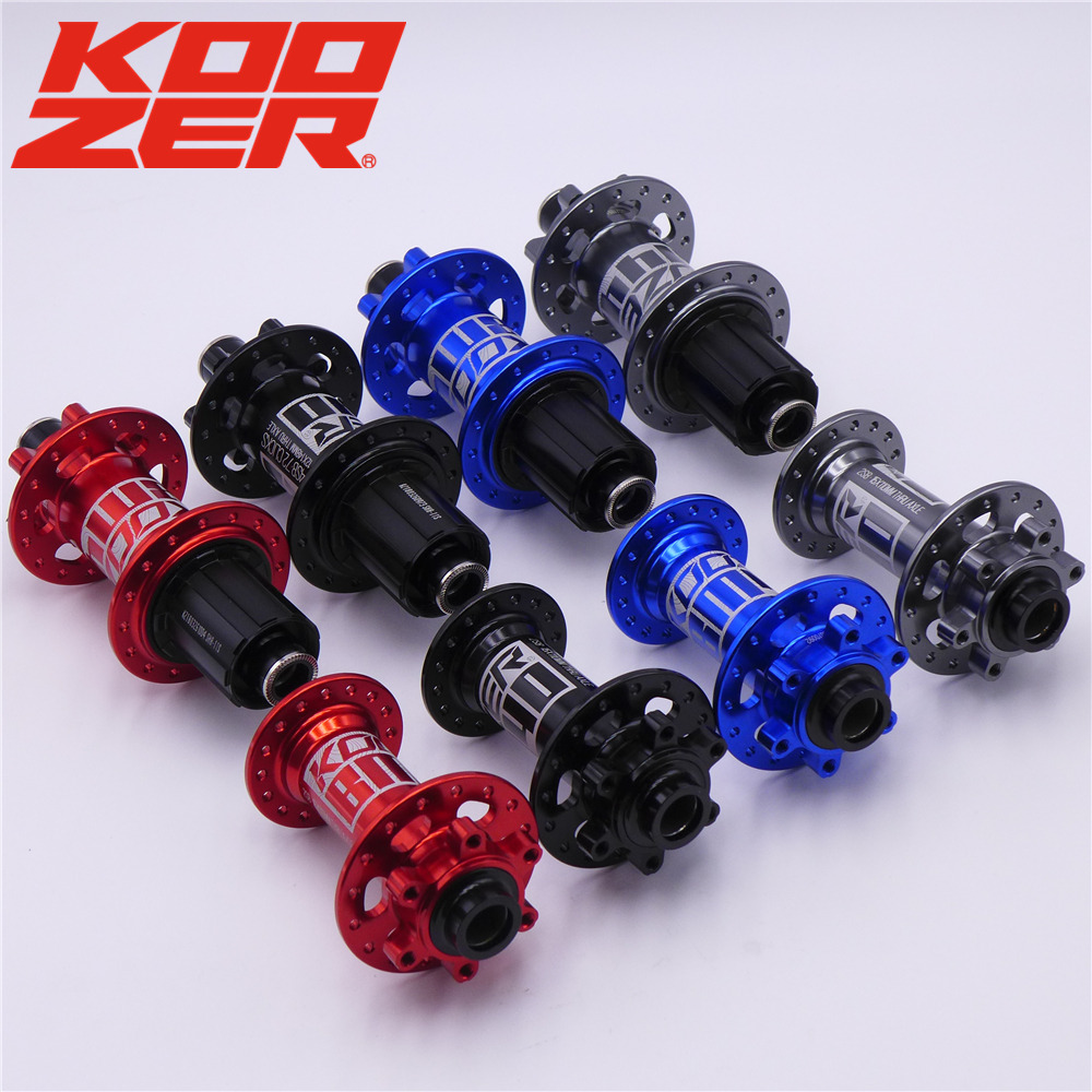 KOOZER BM440 MTB Mountain Bike BOOST Hubs 32h Hole Disc Bearing Hub Front Rear 6 Bolt