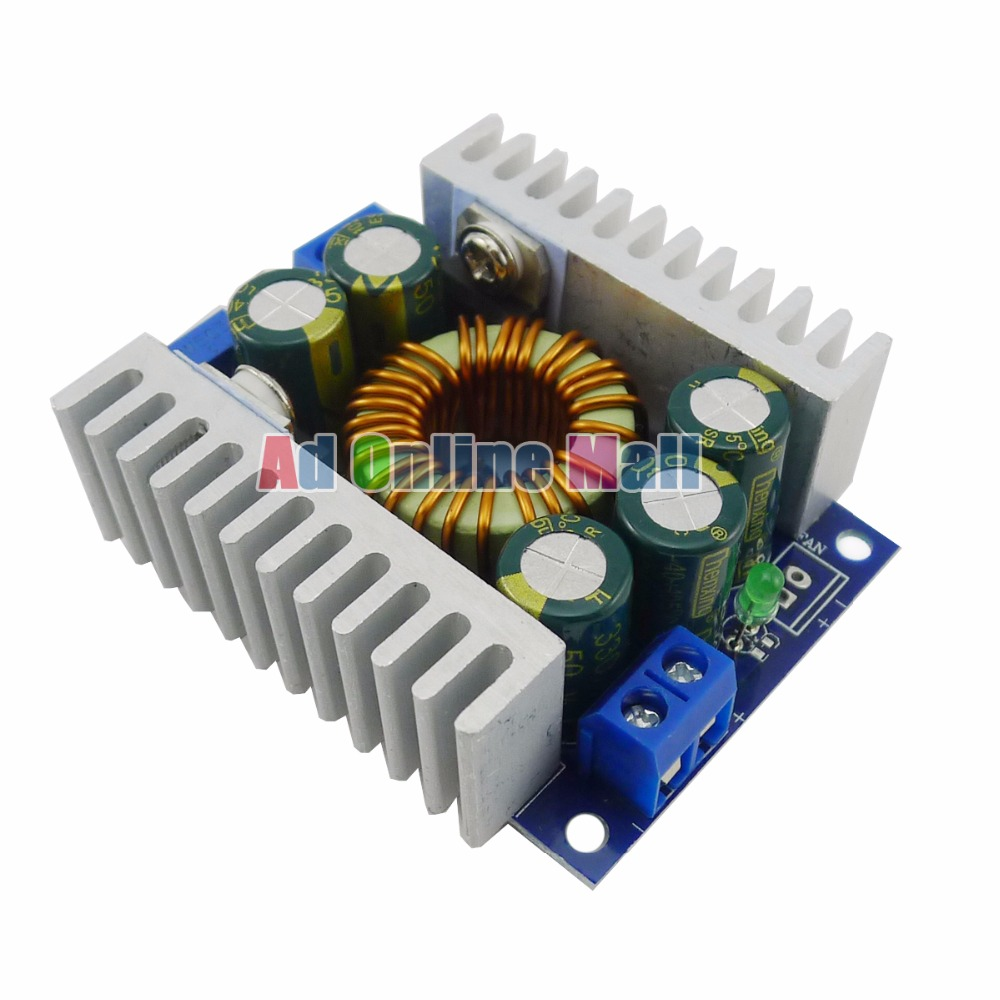Adjustable Voltage Regulator Module Dc 45 30v To 08 12a Lowvoltage Regulated Power Supply Circuit Powersupplycircuit Buck Converters High Step Down Car In Integrated Circuits From
