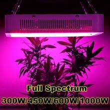 Двойной Chips1000W 600 Вт 450 Вт 300 Вт ПРИВЕЛО Светать Полный Спектр ламп Красный/Синий/Белый/УФ/ИК Для гидропоники и Комнатных Растений