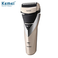 Kemei Shaver Professional Electric Shaver Rechargeable Waterproof Shaving Machine For Men Beard Trimmer Face Care Razor 40D