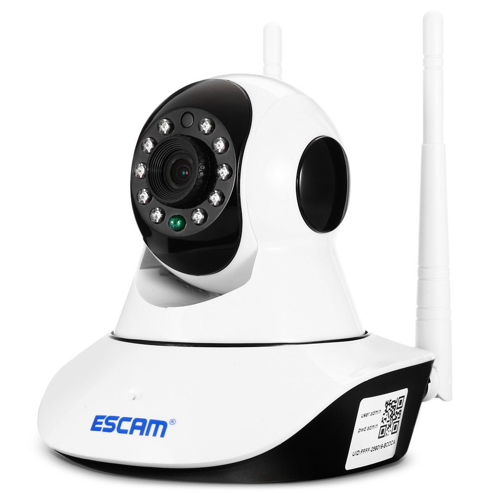 ESCAM G02 720P Wireless WIFI IP Camera Home Security Pan Tilt Camera w Night Vision Two way Audio For Baby Elder Pet in Surveillance Cameras from Security Protection