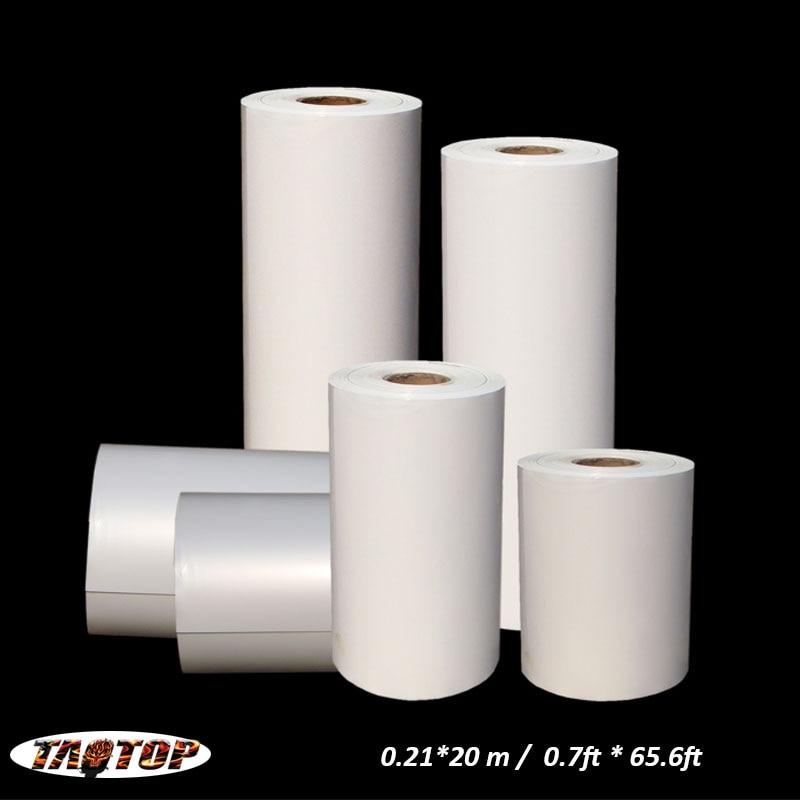 ITAATOP 0.21*20 m/0.7ft * 65.6ft film hydrographique blanc