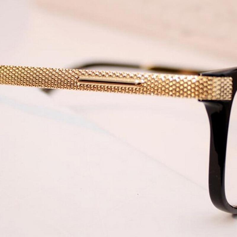 aliexpresscom buy women glasses vintage gold computer eye glasses frame plain mirror black frame glasses men oculos de graufree shipping y24 from