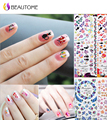 HOT Nail stickers art decorations beautiful first subsidies watermark Full version applique Transparent water decals !