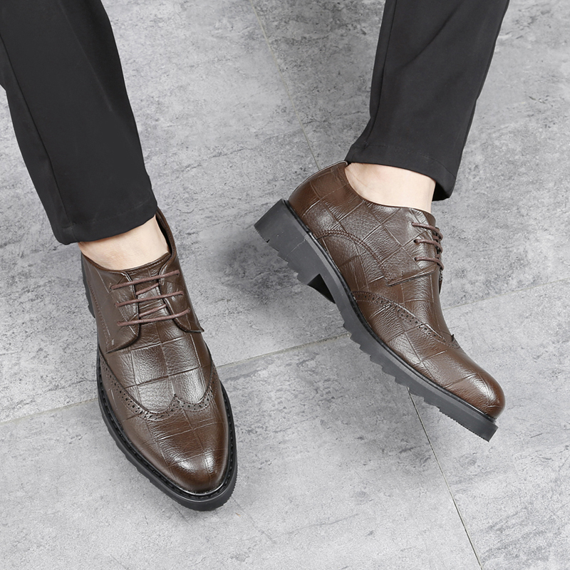 Leather Casual Shoes' Formal Office