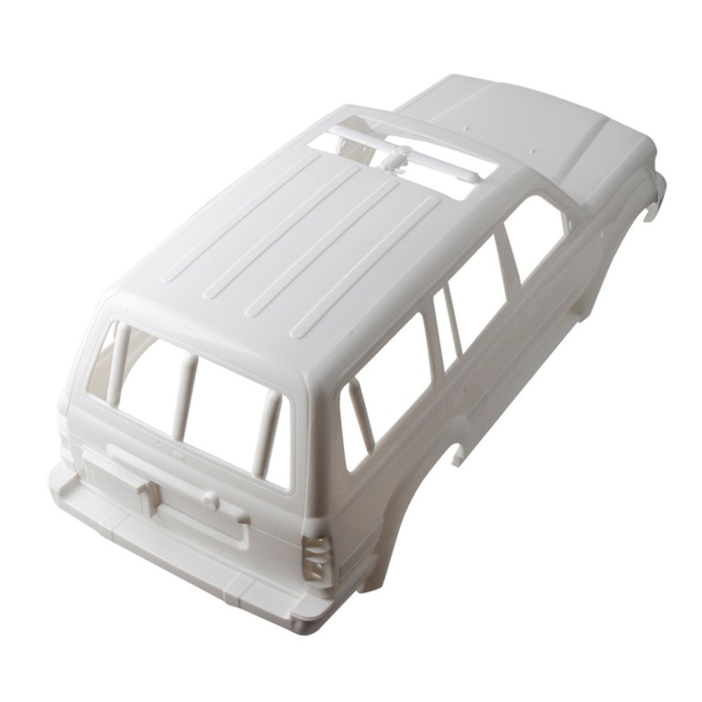 1/10 Land Cruiser LC80 HARD Plastic Body Shell 313mm Wheelbase For Axial SCX10 Rc Crawler Truck Car Model Toys Hobby Parts Accs new lc80 hard bodies body for rc crawler sale axial scx10 wheelbase 313mm