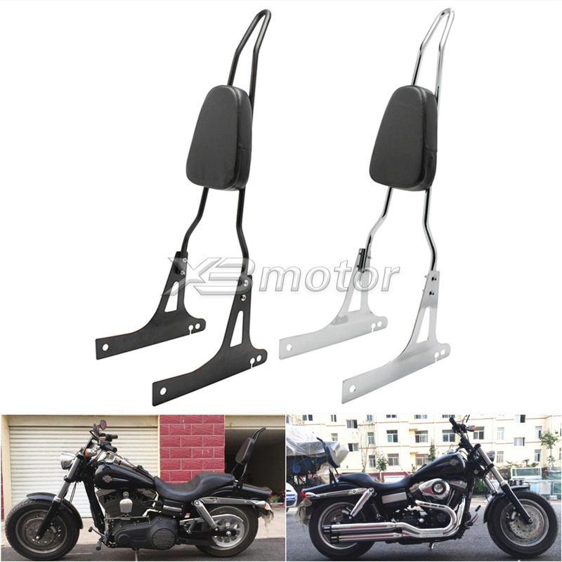 Motorcycle Detachables Solo Luggage Rack Shelf For Harley Dyna Street Bob Super Glide Fxd Fxdb Fxdc Custom Low Rider Motorcycle Accessories & Parts Automobiles & Motorcycles