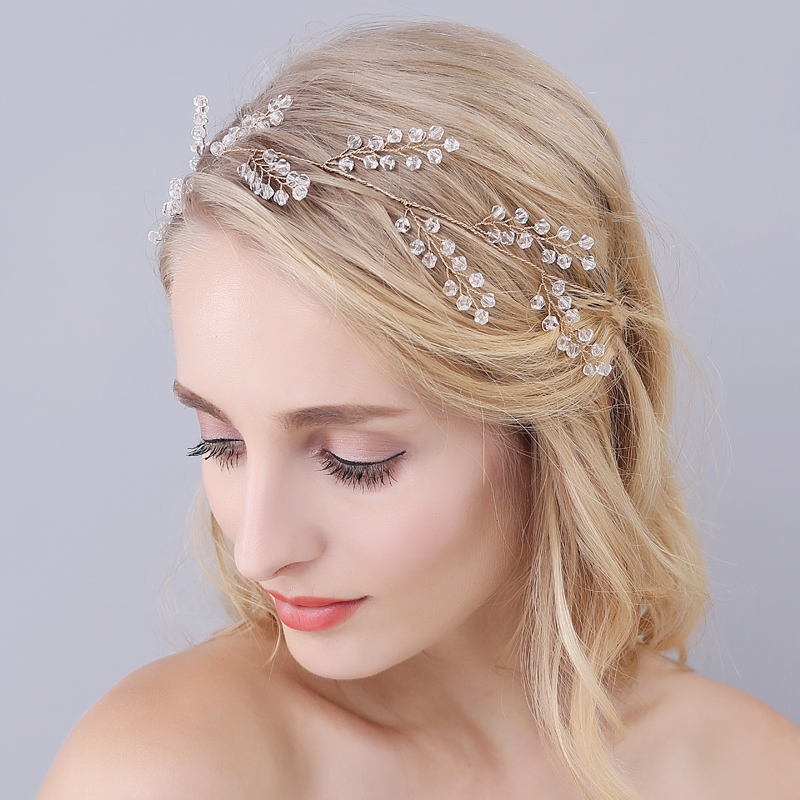 Ladies Handmade Hairwear Accesorios Womens Wedding Dress Gold Crystal  Leaves Hairbands Bridal Accessories O938|hairband accessories|accessories  accessoriesaccessories bridal - AliExpress