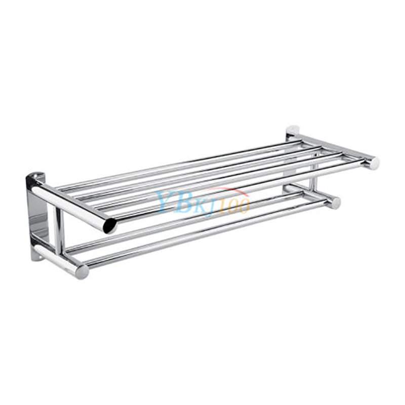 Stainless Steel Towel Rack Luxury Solid Polished Chrome Towel Rack ...