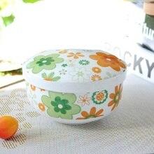 Korean Children S Baby Bowl With Cover Bone Ceramic Bowl Baby Mini Steamed Egg Bowl China