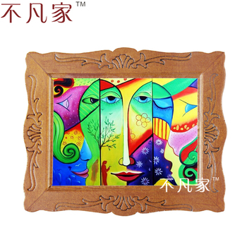 Wholesale 1:12 scale miniature classical Grand Abstract style  oil painting D-20