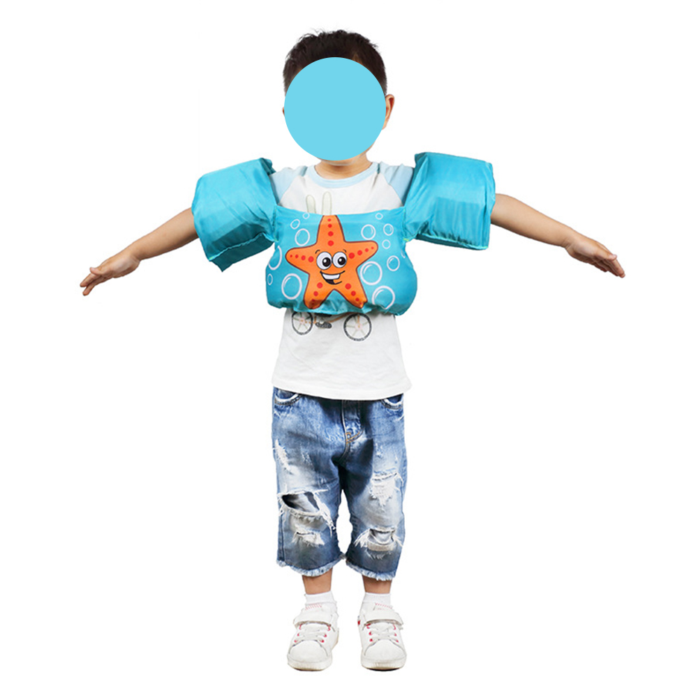 Children Life Vest Cartoon Toddler Float Surfing Swimming Ring Pool Boys And Girls Swimming Life Jacket Buoyancy Child Safety