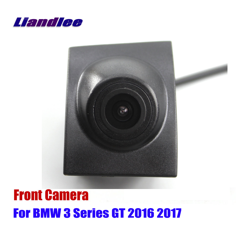 Liandlee AUTO CAM Front View Camera For BMW 3 F30 F31 F34 GT 2016-2017 Logo Embedded ( Not Reverse Rear Parking Camera )