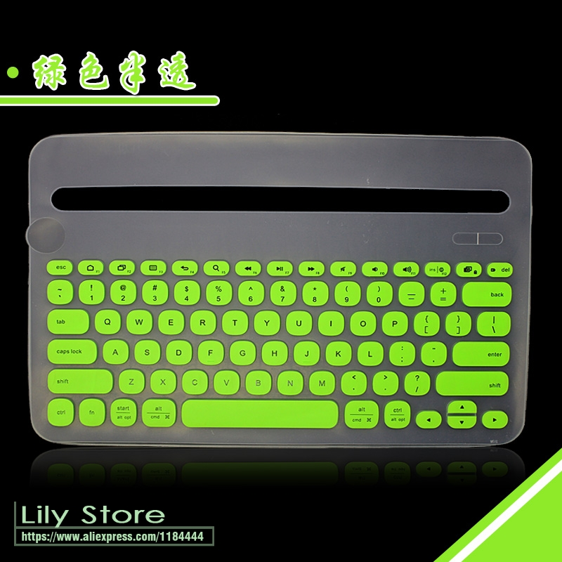 59acf9ad5c6 Silicone Dustproof mechanical Wireless Bluetooth Desktop keyboard Cover  Protector Dust Cover Film For Logitech K480