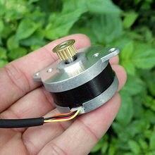 0,9 градусов тонкий 2-фазный 4-проводной микро-36 мм шаговый двигатель высокая точность контроля шаговый двигатель Медь синхронный шкив