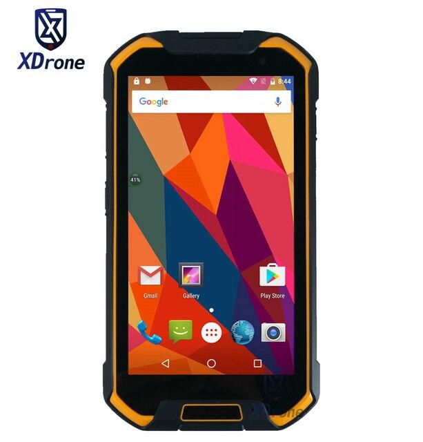 """Китай F2 IP67 прочный Водонепроницаемый Планшеты pc Открытый телефон 6.5 """"1920x1080 4 г LTE Android 6.0 мобильный мини-компьютер 6500 мАч GPS"""