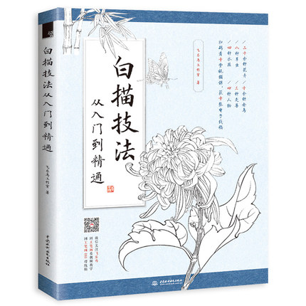 Chinese Traditional Painting Book Biao Miao Sketch Skills Drawing Textbook From Entry To Proficient