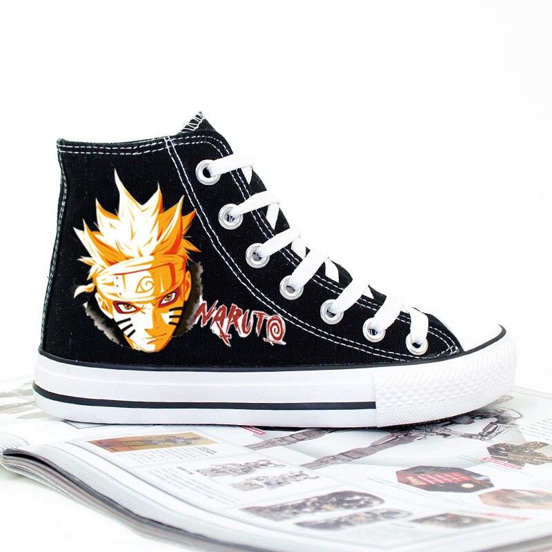 Naruto Canvas Printed Shoes  1