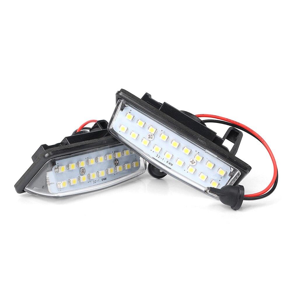 Для Nissan Murano Altima Pathfinder Quest Sentra Rogue Versa Note Maxima светодиодный светильник для номерного знака аксессуары CE 2 шт