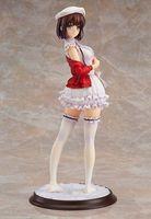 New Anime Action Figure Saenai Heroine No Sodatekata Megumi Kato Standing White Dress Ver PVC Model Collection Doll 24cm