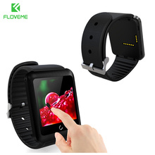 FLOVEME D5 Bluetooth Smart Watch Wearable Electronic Device Support Sim Card For iPhone Samsung Huawei IOS & Android Phone