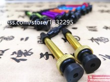 2 pcs  Bicycle vacuum rim tubeless vacuum nozzle extension nozzle  Alloy T6  CNC Bicycle Valve Extension