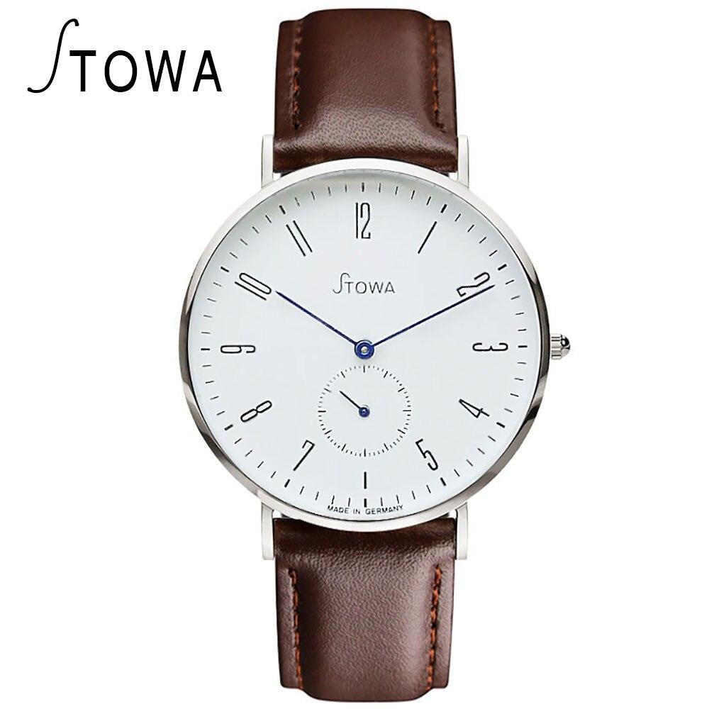 STOWA Quartz font b Watch b font men For Mens font b Watches b font Top