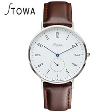 STOWA Quartz Watch men For Mens Watches Top Brand Luxury Reloj Hombre 2016 New Relogio Montre Orologio Uomo Horloge colck