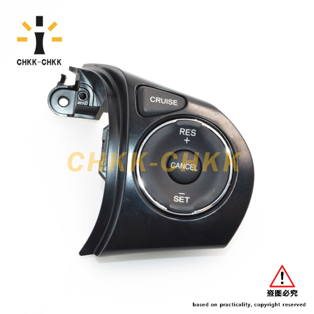 Steering Wheel Switch Control Button Assy 36770-TRA-A01 For Honda civic FB 2012 cruise control 36770 TRA A01 steering wheel cruise control keys switch button for mazda cx7 free shipping