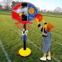 מסגרת כדורסל עומד מקורה צעצועי תינוק צעצועים בחוץ לילדים צעצוע שילוב כדורסל בית משפט פשוט סט מקורה משחקי ילדים