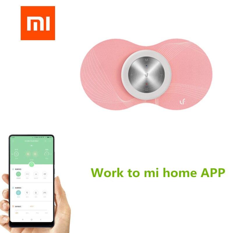 Xiaomi Mijia LF Inteligente Quente Massageador Muscular Do Corpo Massager Relaxar A Menstruação Das Mulheres Adesivos Mágicos para Mi casa app (em inglês) APP