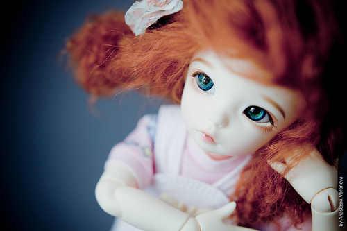 1/6 куклы Bjd кукла предупреждения (девочек)