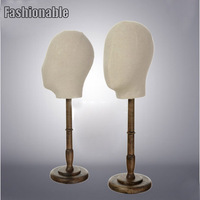 New Style High Quality Fashionable Fabric Head Manikin Head Mannequin Factory Direct Sell