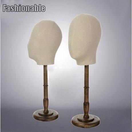Nouveau Style haute qualité à la mode tissu tête Mannequin tête Mannequin vente directe d'usine