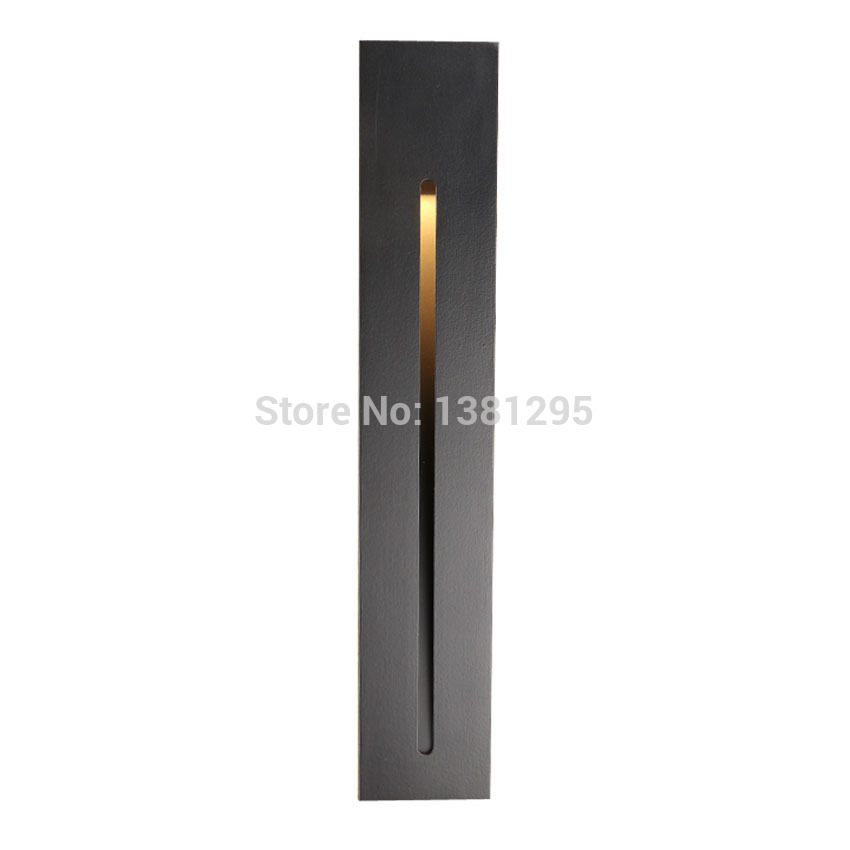 Modern Indoor Led Stair Light Staircase Lighting Stairs Step Lamp Laminate Flooring Rectangular Recessed Wall Lights Stairway