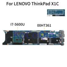 KoCoQin Laptop motherboard Für LENOVO ThinkPad X1 Carbon I7-5600U 8G Mainboard 13268-1 448.01430.0011 00HT361 SR23V CPU(China)