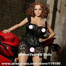 NEW 155cm Silicone Sex Doll For Men, Real Doll With Super Big Breast And Ass, Metal Skelton Sexy Dolls