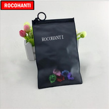 1000x Custom Printed Frosted Black Pvc Ziplock Bag Plastic Opaque Zipper Bags For Clothing Swimwear