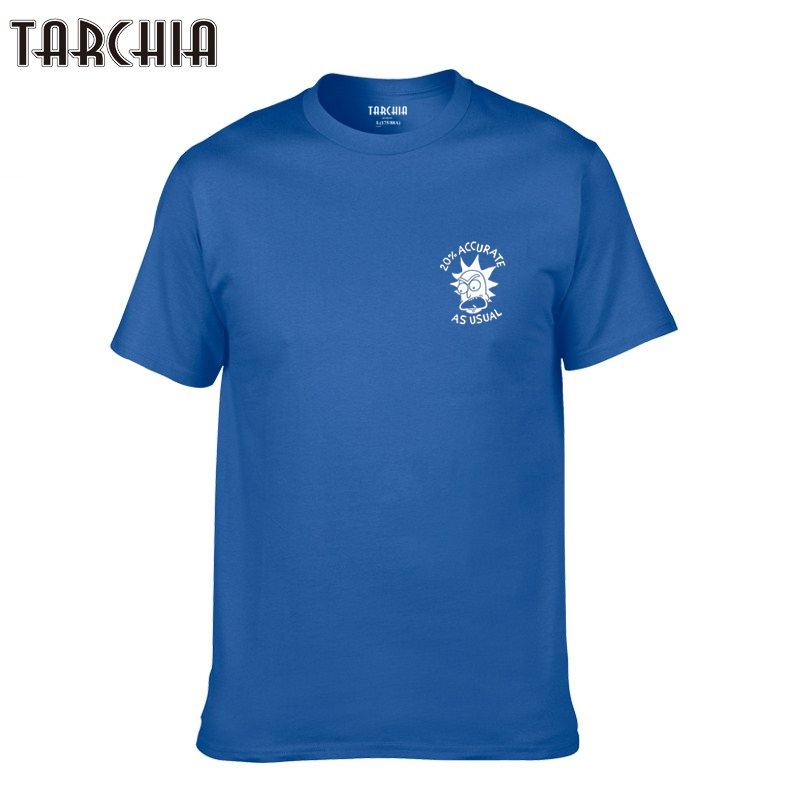 TARCHIA 2019 new brand cotton tops tees men short sleeve 20% accurate as usual boy casual homme tshirt t shirt  t-shirt fashion