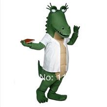 MASCOT The Dr. Ali Gator mascot costume custom fancy costume cosplay kits mascotte theme fancy dress carnival costume