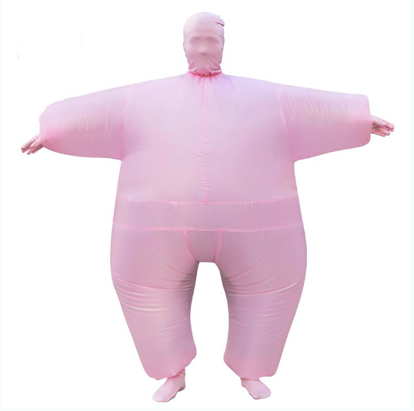 Adult Chub Suit Inflatable Suits Blow Up Blue Green Red Purple Pink 5 Color