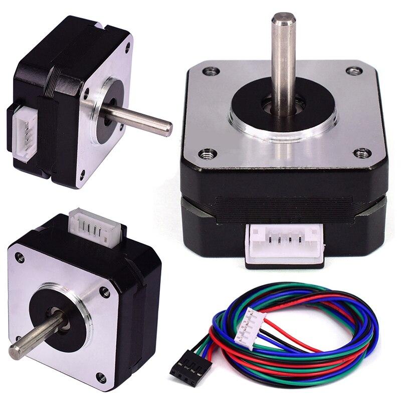 Mayitr 1set 3D Printer Parts Stepper Motor 42*42*23mm Extruder Motor Kits for Titan Extruder pittman motor for liyu pm 3212 printer motor 9234c140 r5 printer parts