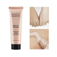 Face Sun Block Waterproof Cosmetics 35ml Mineral Face Foundation BB Cream Liquid Base High Definition Smoothing Makeup L8 Face Foundation