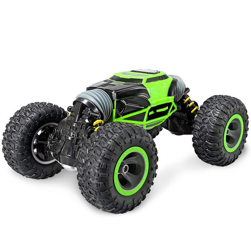 Four Wheel Drive 4WD RC Car Toy Crawler Rechargeable Double Sided Stunt Off-Road Vehicle 2.4G Transform Toys For Gift