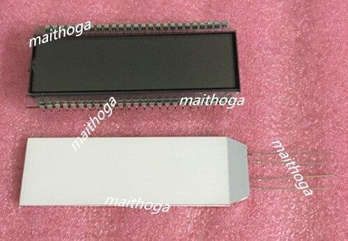 TN Positive 6-Digits Segment LCD Panel White LED Backlight 5V
