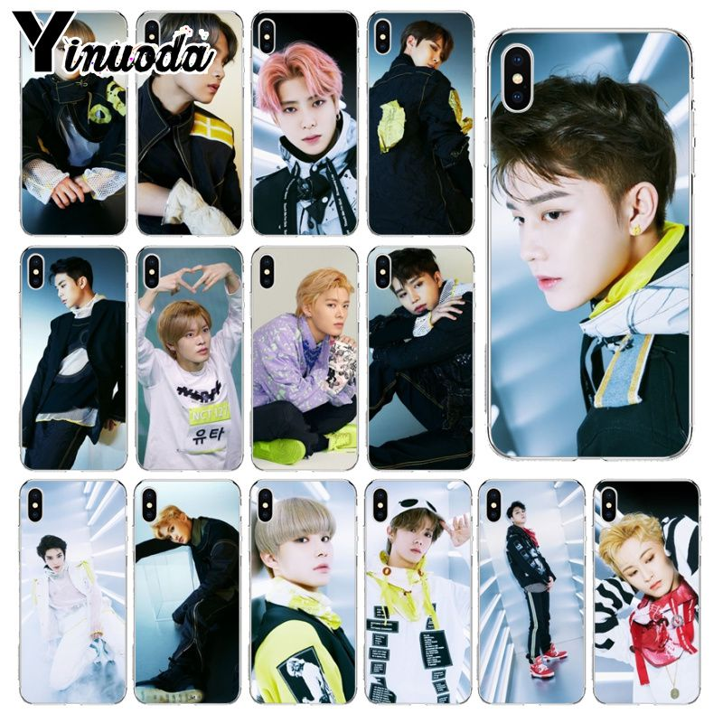 Yinuoda We are Superhuman Nct 127 Soft Silicone TPU Phone Cover for Apple iPhone 8 7 6 6S Plus X XS MAX 5 5S SE XR Cellphones in Half wrapped Cases from Cellphones Telecommunications