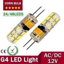 G4 LED Corn bulb 12V Lamp AC/DC Led Bulb Light 3W 6W Spotlight Replace Halogen Lamp 360 Beam Angle Free Shipping