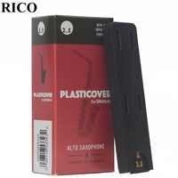 RICO Plasticover Eb alto saxo caña 2,5 #, 3,0 #, 3,5 # caja de 5 saxphone caña