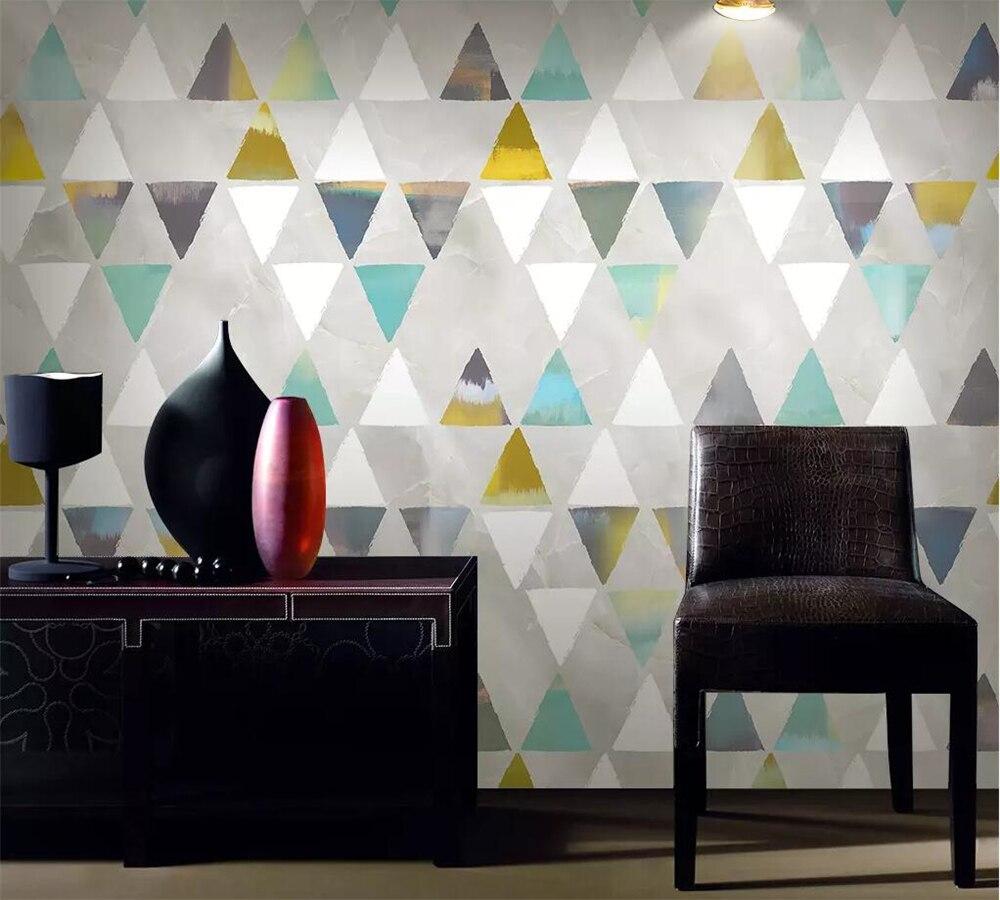 Wellyu Custom Wallpaper 3d Photo Murals Modern Minimalist Geometry TV Sofa Background Wall Paper Papel De Parede 3d Wallpaper